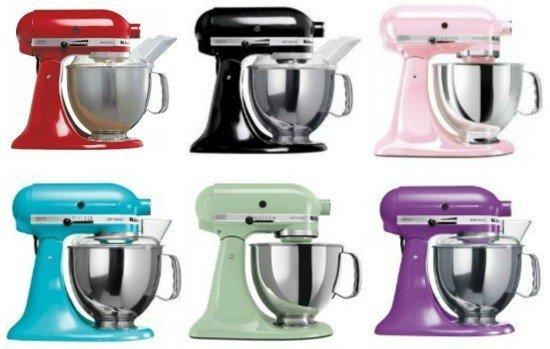 Kitchenaid artisan køkkenmaskinen fås i alle mulige farver