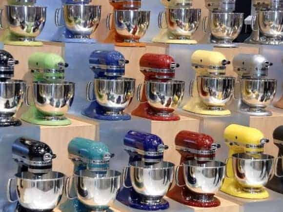 kitchenaid maskiner i mange farver