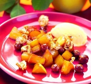 Æble popcorn actifry