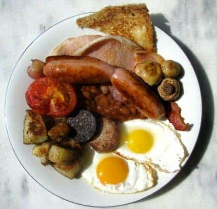 Engelsk morgenmad - full english breakfast